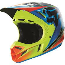 vega motocross helmet fox racing 2016 v4 race helmet blue yellow available at motocross