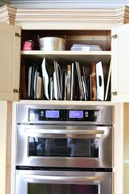 Kitchen Cabinet Pots And Pans Organization Kevin  Amanda Food - Kitchen cabinet shelving ideas