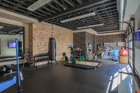 Decorating Home Gym 12 Home Gyms For The Modern Home Gym Garage Doors And Contemporary