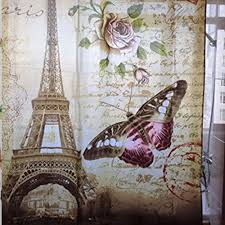 Paris Bathroom Set by Aliexpress Com Buy Paris Bathroom Shower Curtain New Eiffel