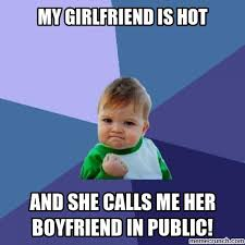 Hot Girlfriend Meme - girlfriend is hot