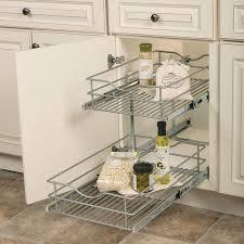 kitchen cabinet organizers kitchen storage organization the 14 625 in w x 21 75 in d x 16 25 in h