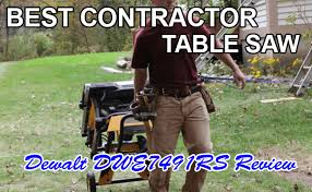 Contractor Table Saw Reviews Best Contractor Table Saw