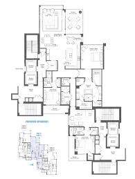 Pent House Floor Plan by Penthouse Wc2 2102 2202 Water Club North Palm Beach
