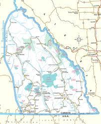 Rocky Mountain Map Bc Recreational Properties Upper Pitt River Kicking Horse