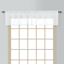 Valances Window Treatments by Amazon Com American Curtain And Home Semi Sheer Window Treatment