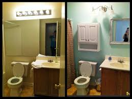 cheap bathroom ideas makeover small bathroom makeovers before and after photos complete ideas