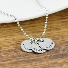 personalized mothers day necklace personalized gifts gift for custom initial necklace