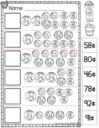 counting money worksheets by catherine s teachers pay teachers