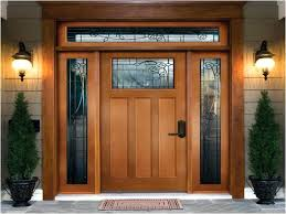 Replacing An Exterior Door Entry Doors With Sidelights Installing A Front Entry Door With