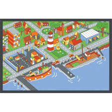 Learning Rugs City By The Bay Learning Carpets Classroom Rugs Educational Kids Rugs