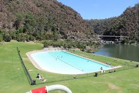 enclosed pool enclosed pool area for kids picture of cataract gorge reserve