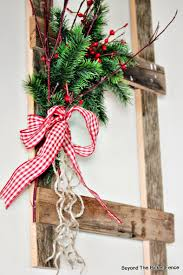 beyond the picket fence 12 days of christmas day 6 ladder decor