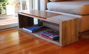 concrete and wood coffee table concrete coffee tables holding up to wear and tear and also white