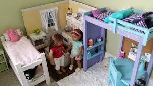 Big Barbie Dollhouse Tour Youtube by American Doll Room Tour Youtube American Doll Bedroom