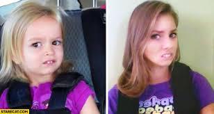 Disney Girl Meme - chloe meme then and now cute girl going to disneyland starecat com