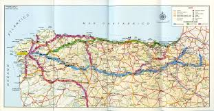 Burgos Spain Map by Northern Spain Map Imsa Kolese