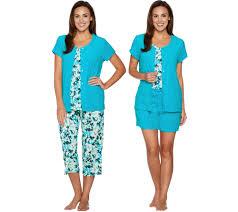 Terry Cloth Robe Kohls Carole Hochman U2014 Sleepwear U0026 Loungewear U2014 Fashion U2014 Qvc Com