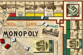 Monopoly Map New Monopoly Set Takes You Back To Early 1900s Hanoi Saigoneer