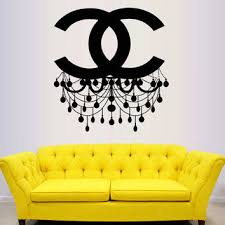 Chandelier Wall Decal Shop Chandelier Wall Art On Wanelo