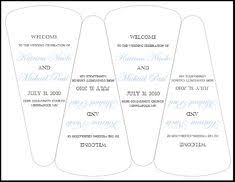 fan wedding program kits diy fan program kits from cherish paperie wedding weddi on
