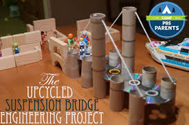 diy engineering projects the upcycled suspension bridge engineering project adventures in