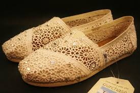 Wedding Shoes Toms Toms Wedding Shoes Off White Cream Natural Ecru Crochet With