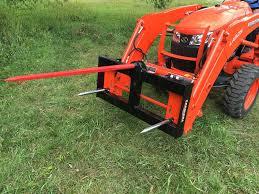 tractor loader bale spears premier