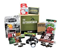 birthday gift baskets for men the outdoorman by mansnacks manly gear and grub for the