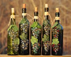 how to decorate a wine bottle for a gift wine bottle crafts bottle de lites home crafts awesome collection