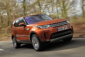 tan range rover land rover discovery review 2017 autocar
