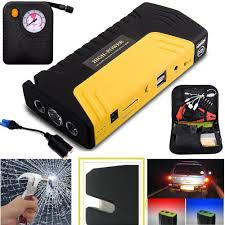 auto inflator pump car emergency power supply 58800mah dual usb