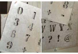 letter stencils number stencils