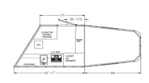 horse trailer living quarter floor plans 8533
