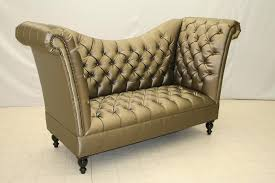Old Hickory Tannery Chaise Tufted High Back Sofa Cool And Unusual Chairs Pinterest