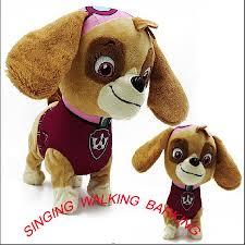 aliexpress com buy new doll walking barking musical robot dog