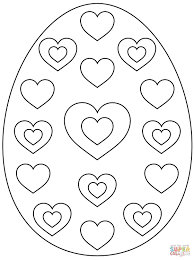 coloring pages easter egg outline how to write an conclusion to an