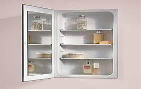 Decorating Medicine Cabinet Replacement Shelves Broan Medicine