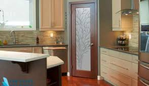 etched glass kitchen cabinet doors why you should install frosted glass doors in your home