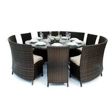 heritage loom madrid patio furniture dining set 7 pieces by