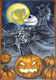 jack skellington the pumpkin king by rosychiovaro77 on