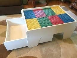 Kids Activity Table With Storage Lego Duplo Kids Play Table With Storage Drawer Made By Kidkraft