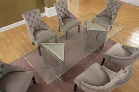 Mirrored Dining Room Tables T1805 Furniture Import U0026 Export Inc
