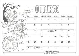 imagenes calendario octubre 2015 para imprimir calendario infantil 2017 para imprimir y colorear dibujos net