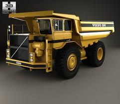 volvo model trucks volvo bm kockum 565 dump truck 2016 3d model hum3d