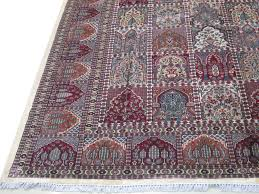 Indian Area Rugs Indian Jammu Hand Knotted Rug 9 U0027 X 12 U0027 Rich Cotton Silk Persian