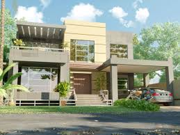 Modern Elevation 3d Front Elevation Beautiful Modern 1 Kanal Home 3d Front