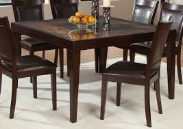 Square Wood Dining Tables Homelegance Vincent Square Dining Table Mango And Acacia Wood