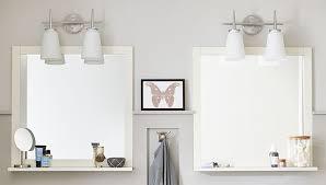 Bathroom Mirror With Shelves Bathroom Mirror With Shelf Bathroom Cintascorner Bathroom Mirror