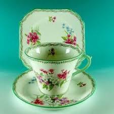 shelley fine bone china wild anemone cup u0026 saucer drinking and